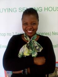 Eunice Sefiti, estate agent
